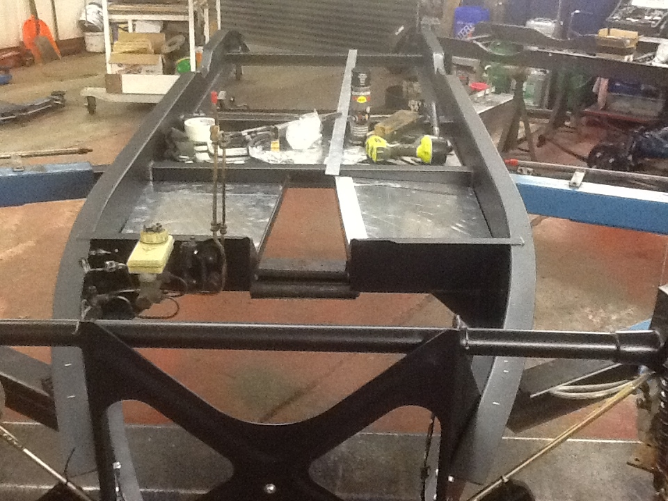 Update 27 - Chassis fit out & Bulkhead repair - Talk Morgan - Morgan