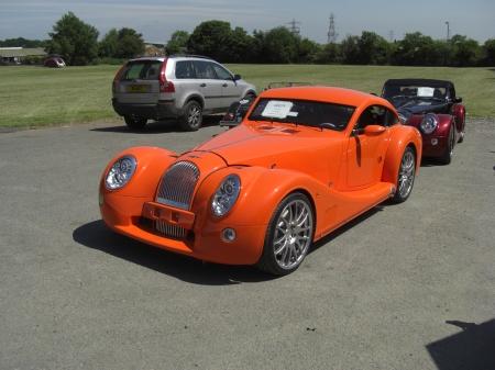 Orange Morgan Aeromax Morgan Photo Gallery Talk Morgan Morgan Sports Car Discussion Forum