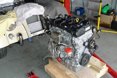 New engine on pallet.JPG