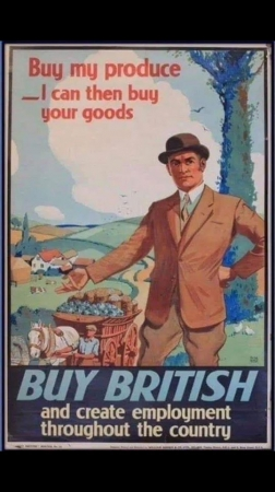 Buy British at last....