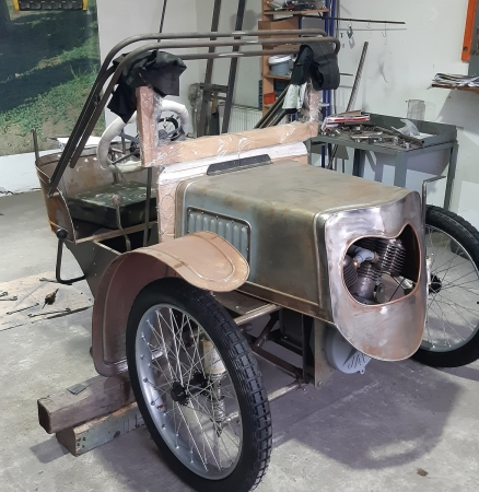 New 1913 Runabout replica in progress