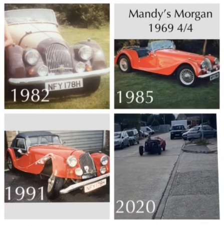 Mandy's Morgan so far...