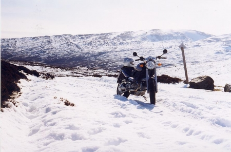 Snow place for a bike.JPG