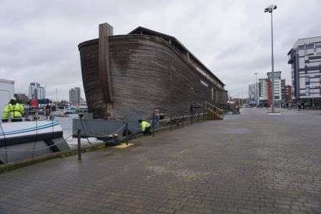 A day out at Ipswich docks