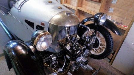 Morgan 1934 three wheeler nearly done